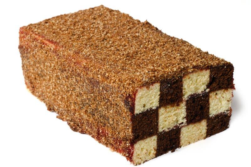 Download губка шахмат торта стоковое фото. изображение насчитывающей конфета - 18397824