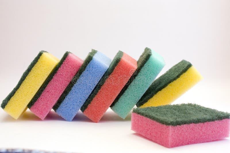губки цвета стоковое изображение