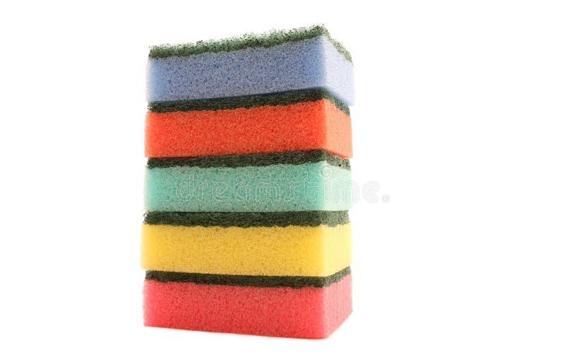 губки цвета стоковые изображения rf