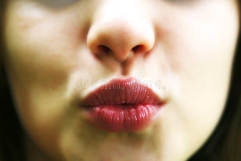 губы стоковое фото