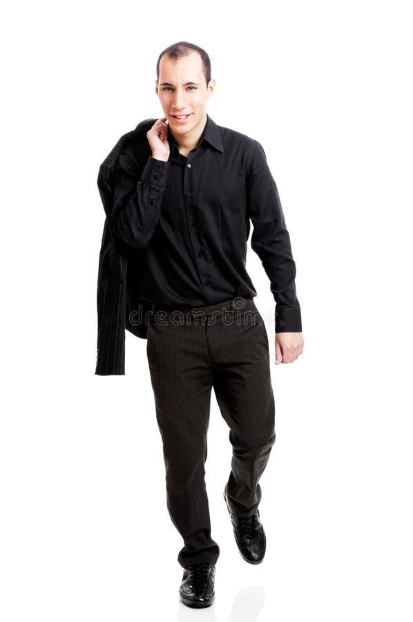 гулять бизнесмена стоковое изображение