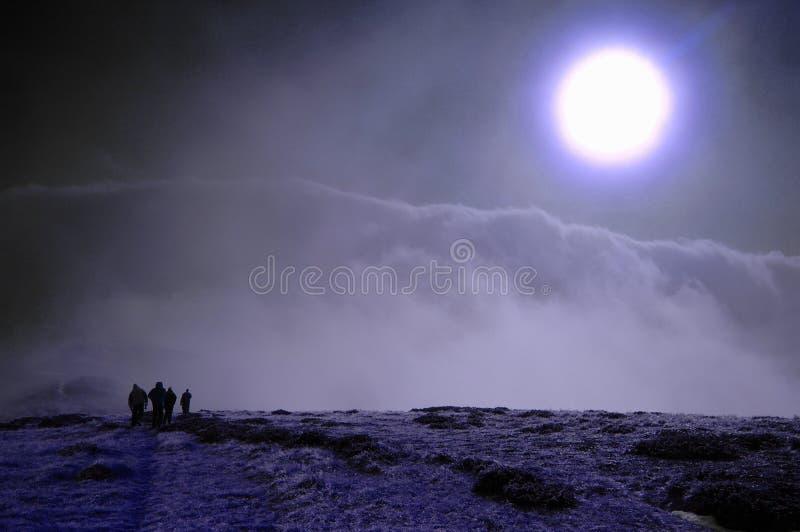 гулять луны стоковое изображение rf