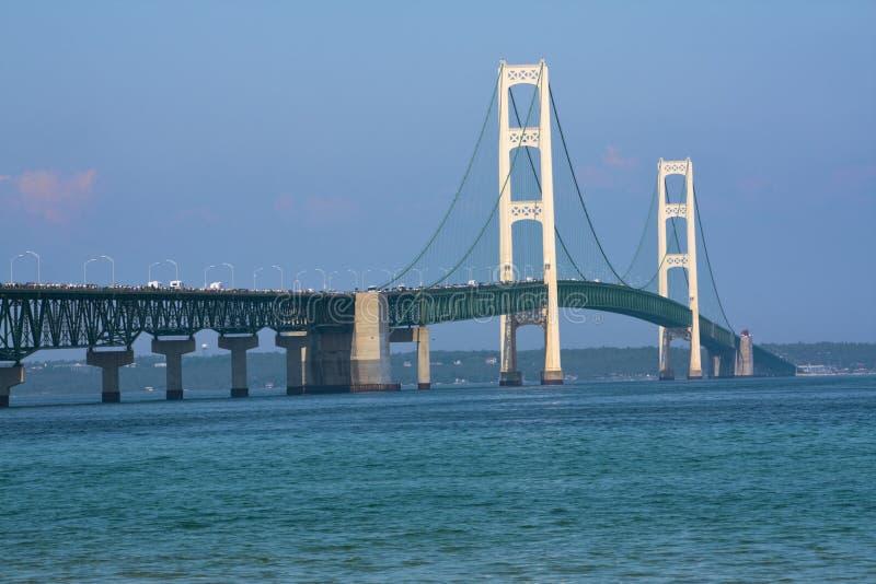 гулять mackinac работы дня моста стоковые фото