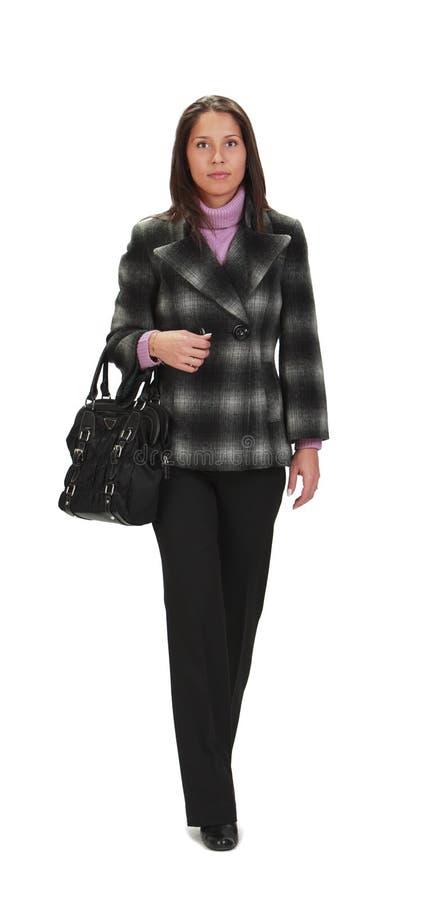 гуляя женщина стоковые изображения rf