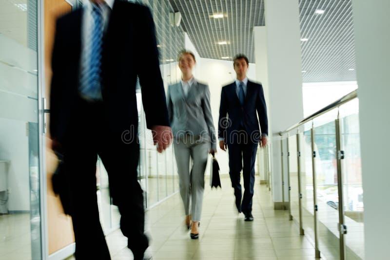 Гуляя люди стоковые фото