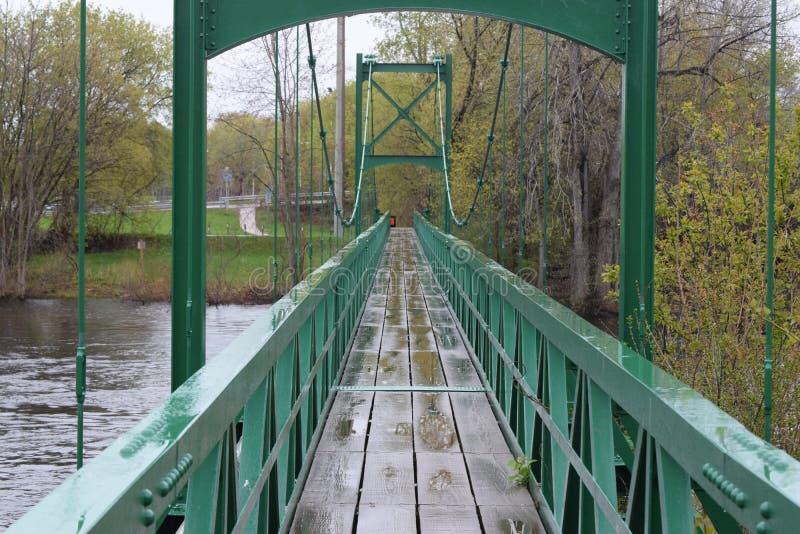 Гуляя мост стоковые изображения rf