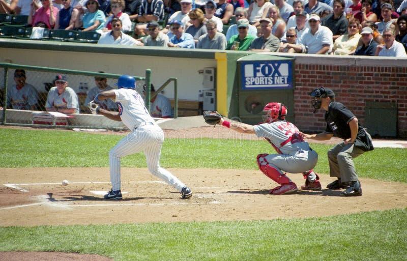 Гэри Mathews, Чикаго Cubs стоковое фото rf