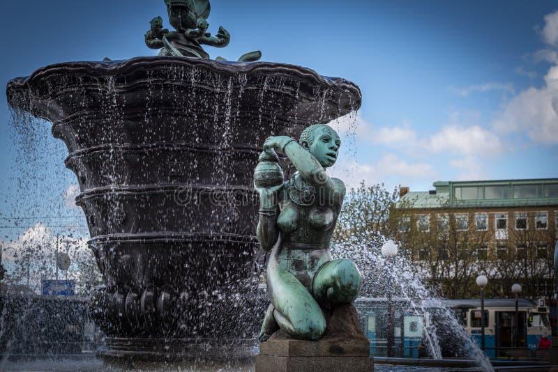 Гётеборг - железный квадрат стоковые фотографии rf