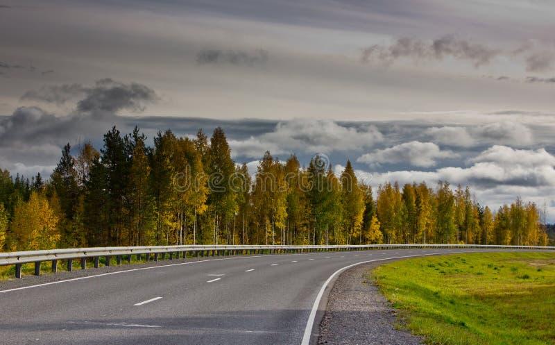 Главная дорога стоковая фотография