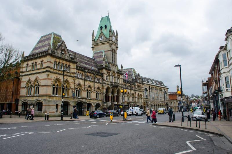 Главная улица Винчестер Хемпшир стоковая фотография