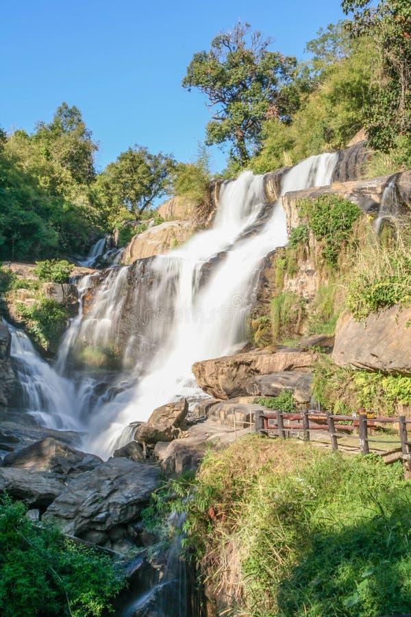 Главный водопад водопада Mae Klang стоковые фото