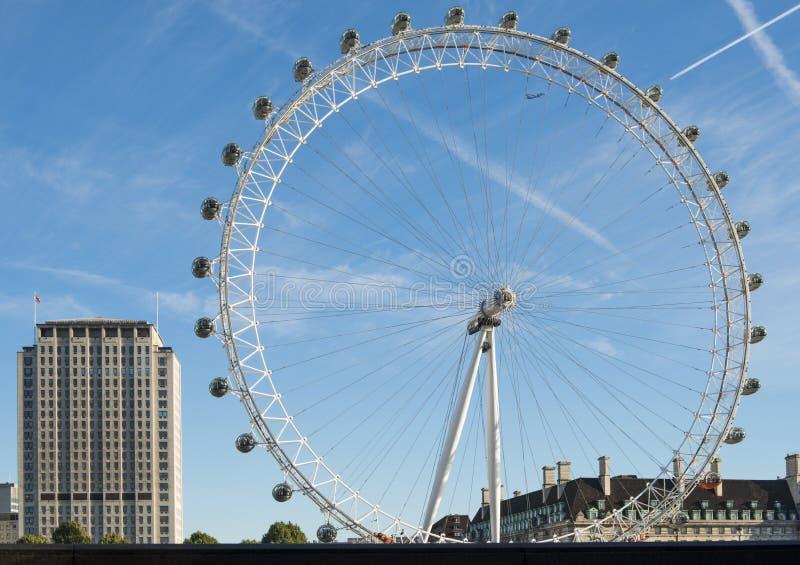 Глаз Лондон стоковое фото