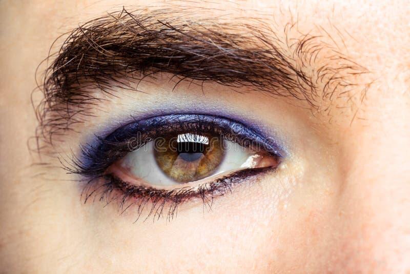 Глаз ` s трансгендерного стоковые изображения
