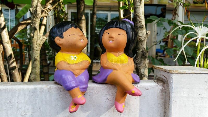 Глины куклы стоковые изображения rf