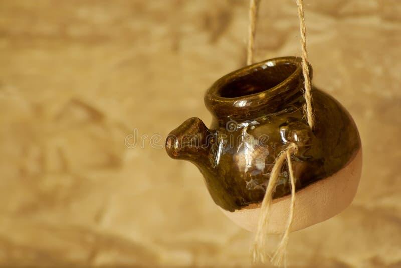 Глиняный горшок стоковое изображение