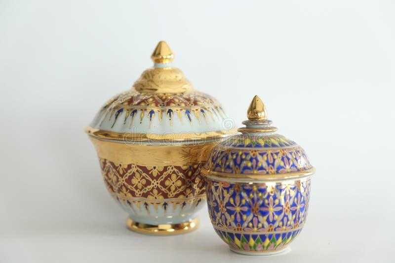 Глиняный кувшин Азия гончарни стоковая фотография rf