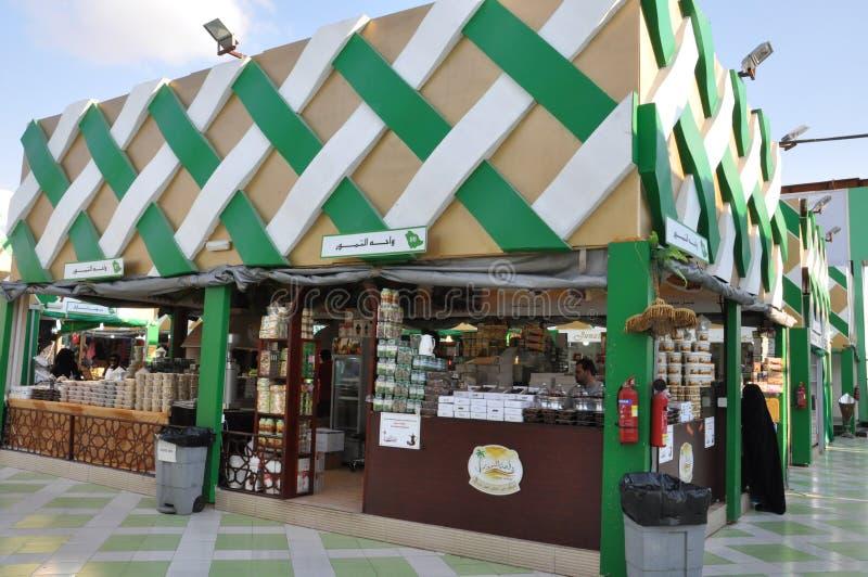 Глобальная деревня в Дубай, ОАЭ стоковая фотография rf