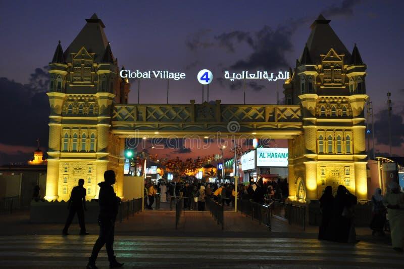 Глобальная деревня в Дубай, ОАЭ стоковые изображения