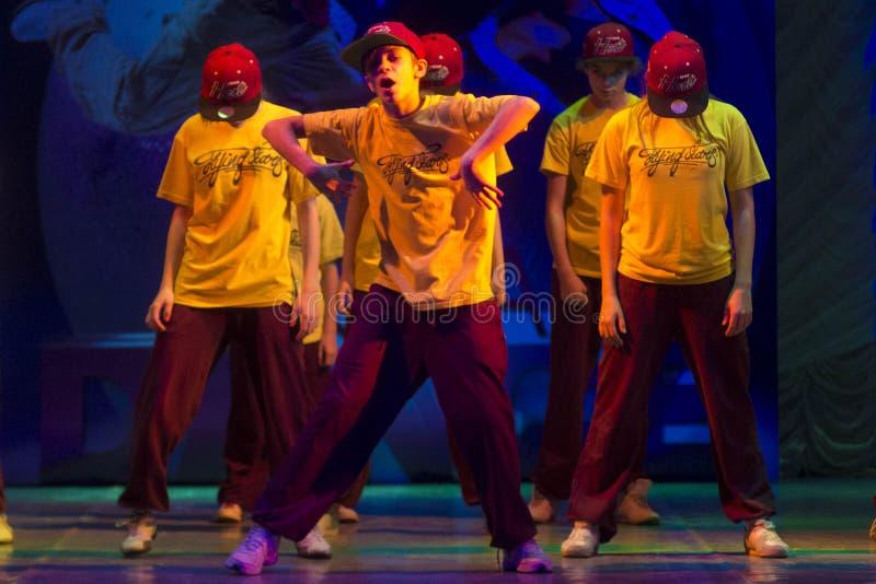 Глобальные конкуренции в хореографии, Минск танца, Беларусь. стоковое изображение rf