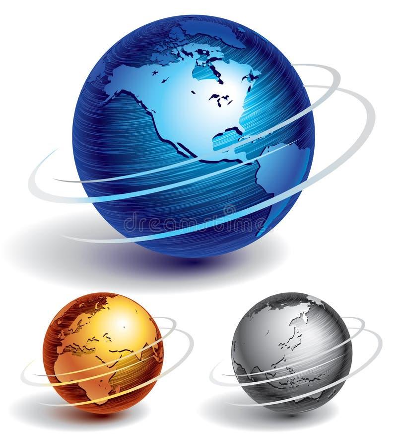 глобусы бесплатная иллюстрация