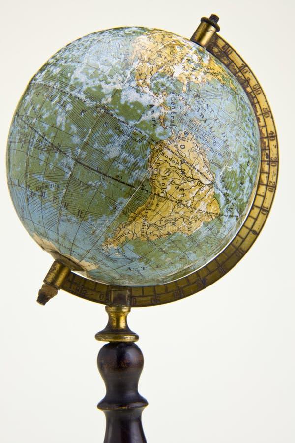 Глобус старого типа стоковые фотографии rf