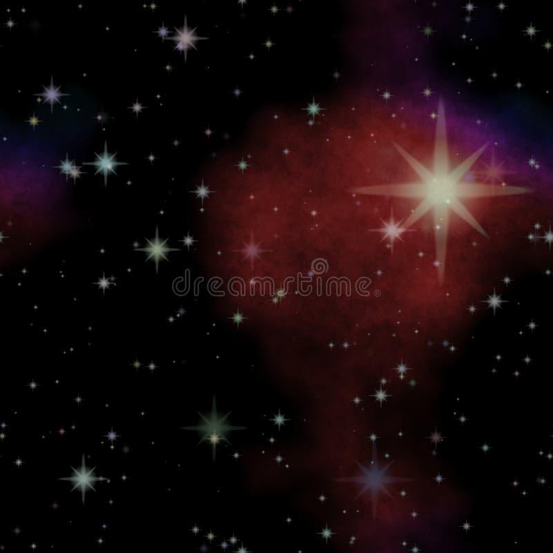 Глубокий космос играет главные роли, взгляд в другую галактику бесплатная иллюстрация