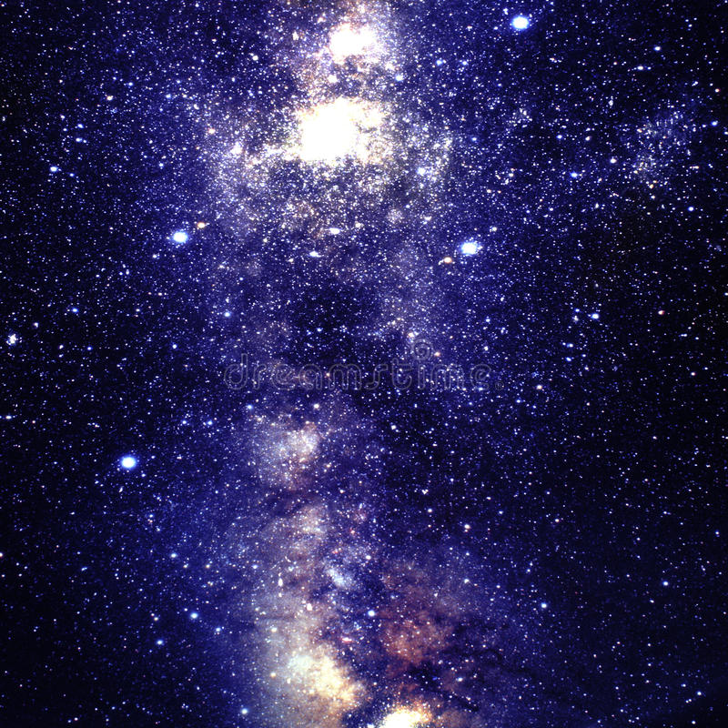 Глубокое космическое пространство иллюстрация вектора