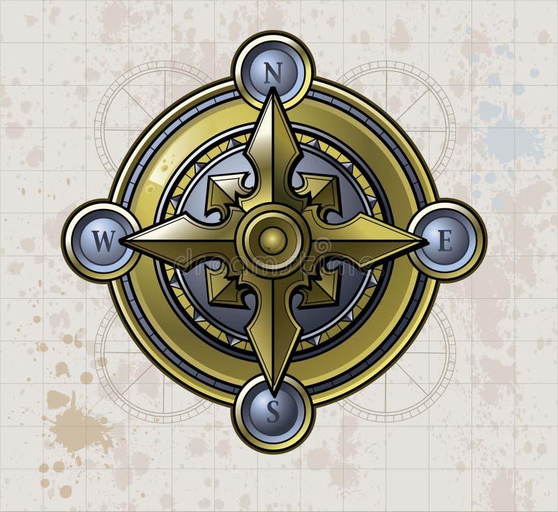 Глянцеватый компас бесплатная иллюстрация