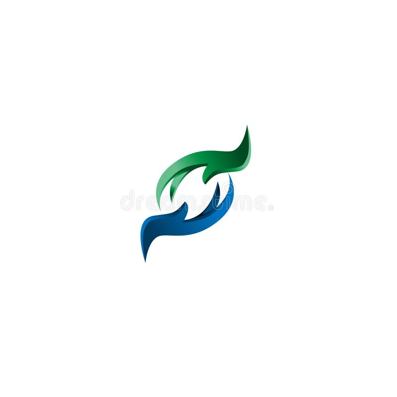 Давать знак рук Символ приветствию символ руки значка, знак, значок, шаблон логотипа для призрения, здоровья, добровольца, не org иллюстрация вектора