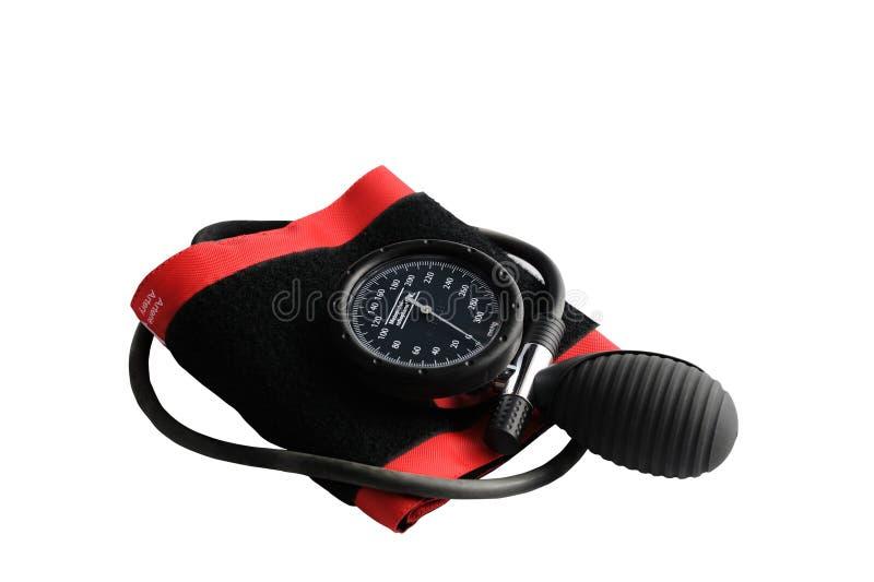 давление аппаратуры крови измеряя стоковое фото rf