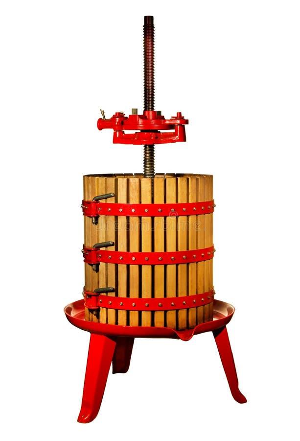 Давление вина стоковые фотографии rf