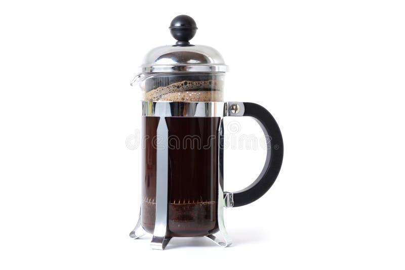 давление кофе стоковые изображения