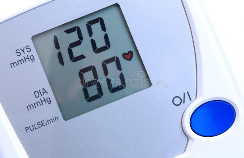 давление монитора крови стоковое фото