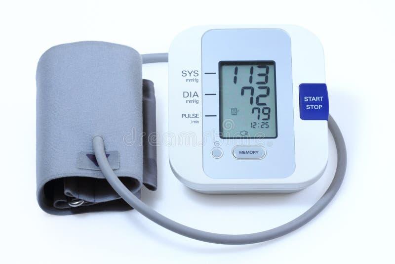 давление монитора крови стоковое фото rf