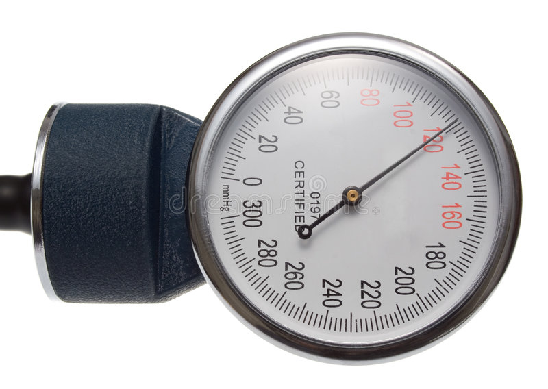 давление по манометру стоковое изображение rf