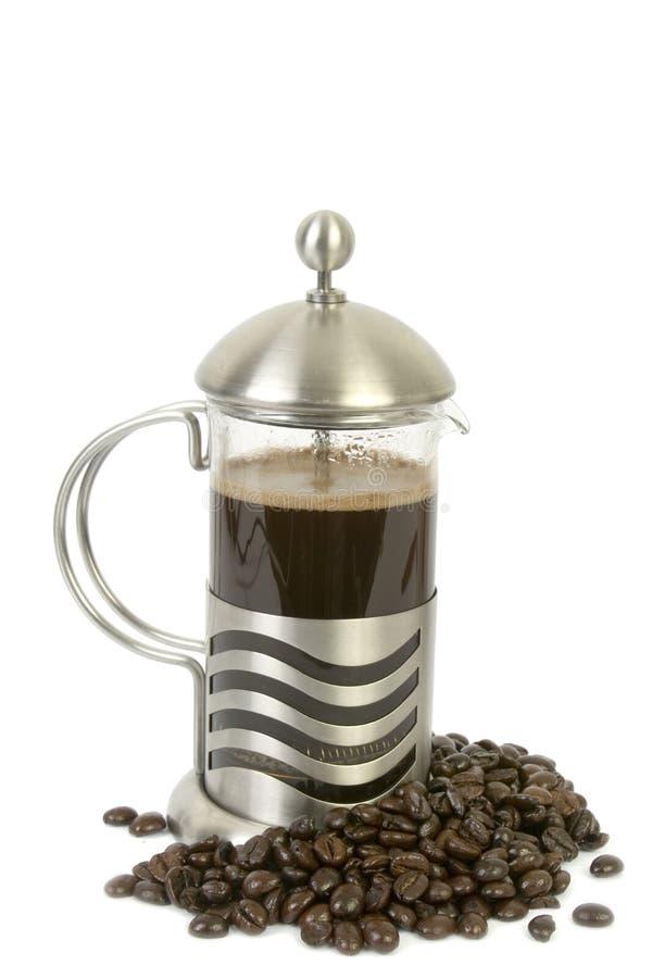 давление франчуза кофе стоковое фото rf