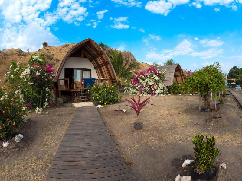 Дайвинг-клуб курорта Komodo стоковые фотографии rf
