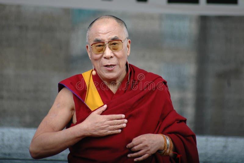 Далаи Лама стоковое изображение rf