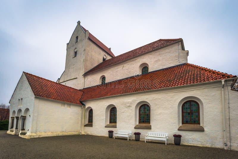 Далби - 21 октября 2017 года: Историческая церковь Священного крестового м стоковое фото