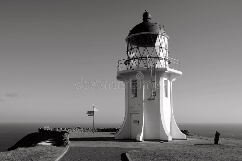 далекий маяк северный стоковое изображение
