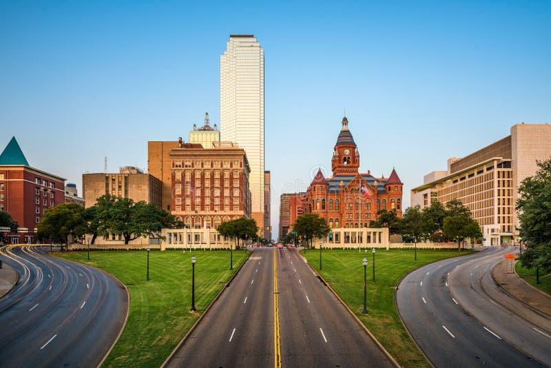 Даллас, Техас, площадь США Dealey стоковая фотография