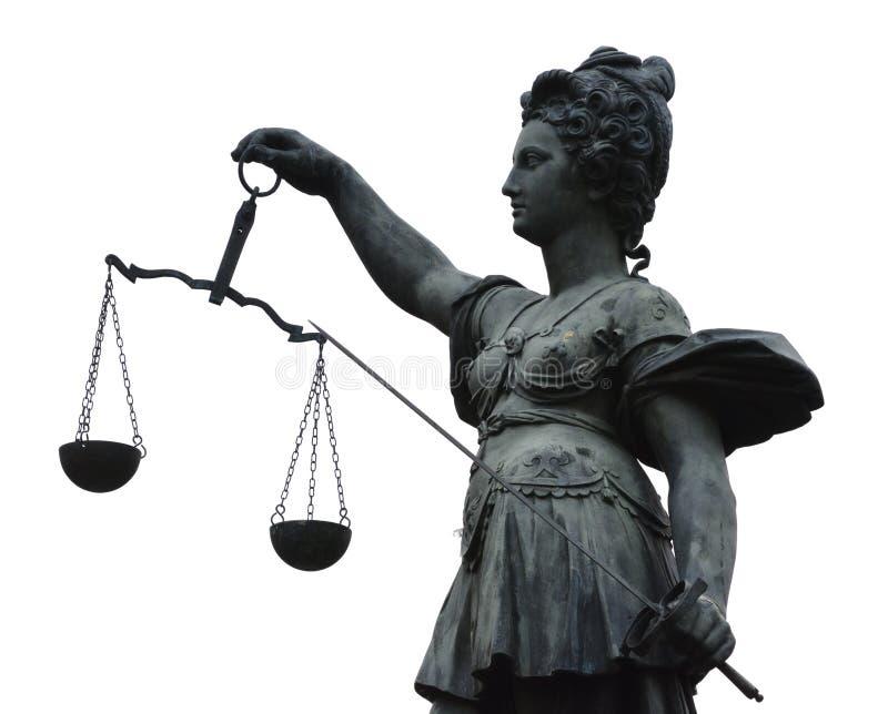 Дама Правосудие стоковые фотографии rf