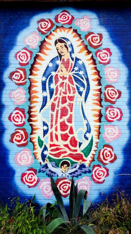 Дама Guadalupe стоковые фотографии rf