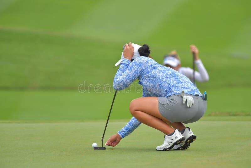 Даниэлла Kang в Honda LPGA Таиланде 2018 стоковые изображения