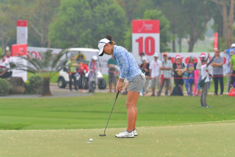Даниэлла Kang в Honda LPGA Таиланде 2018 стоковое фото