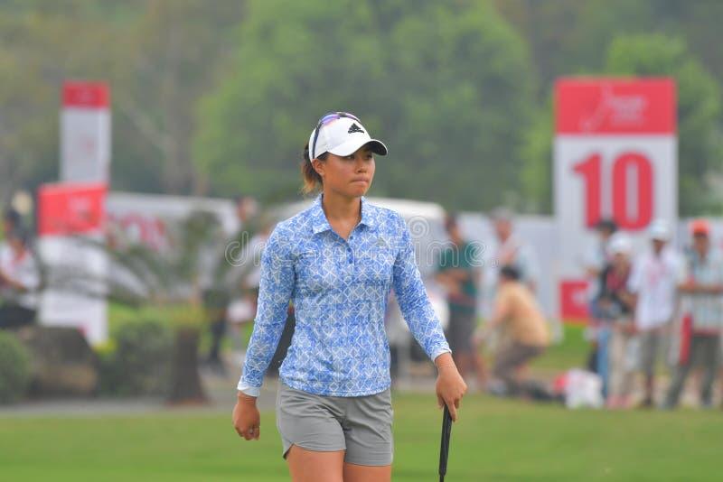 Даниэлла Kang в Honda LPGA Таиланде 2018 стоковое изображение rf