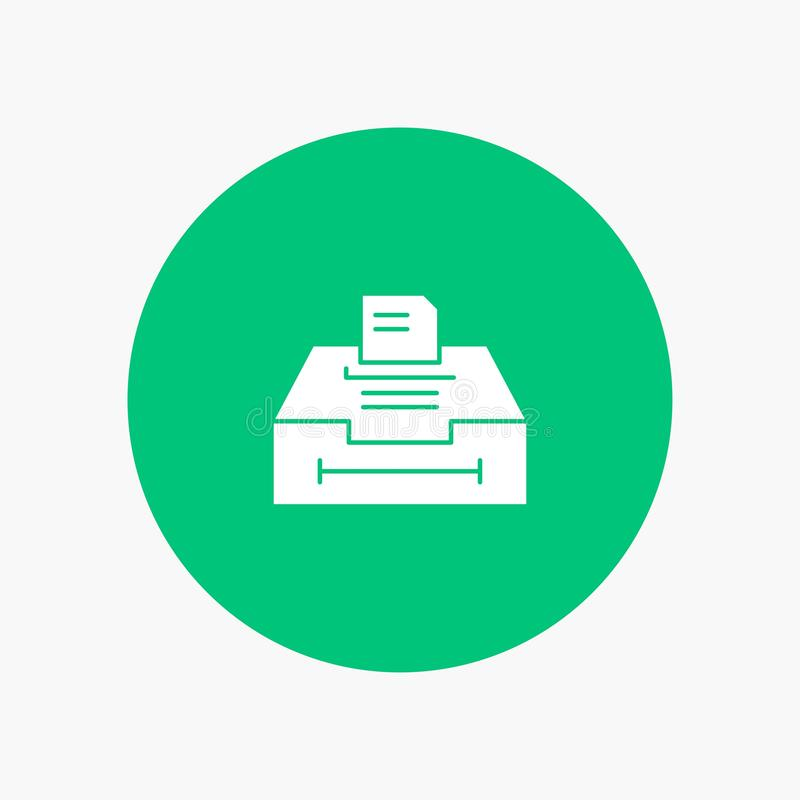 Данные, архив, дело, информация иллюстрация вектора