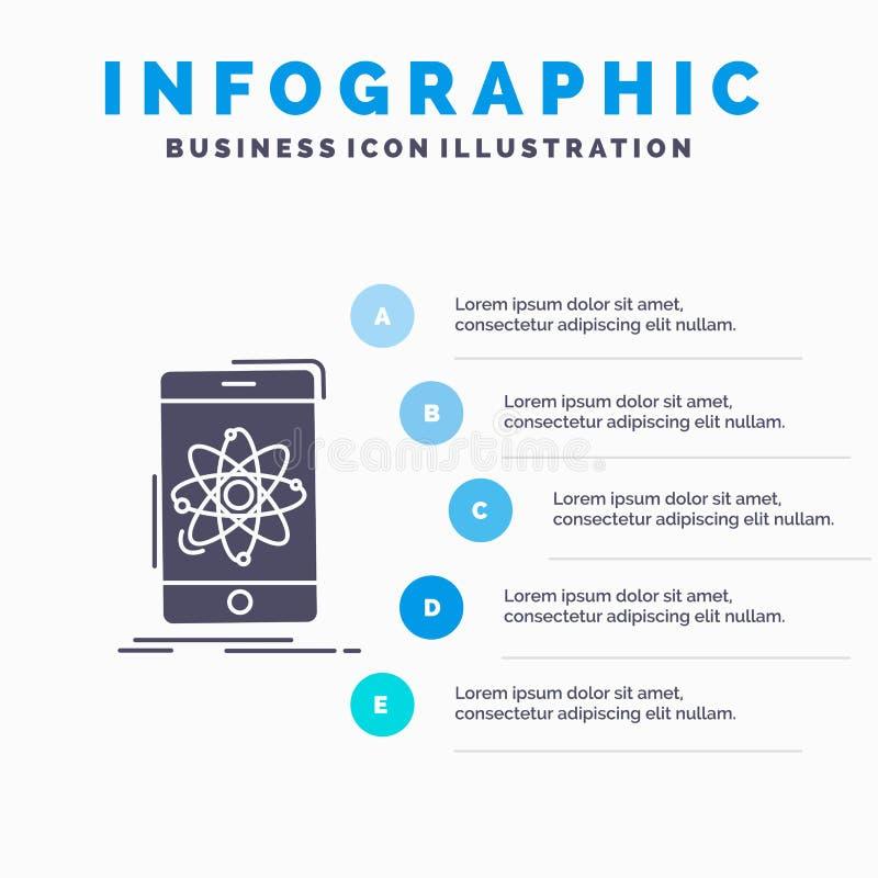 данные, информация, чернь, исследование, шаблон Infographics науки для вебсайта и представление r бесплатная иллюстрация