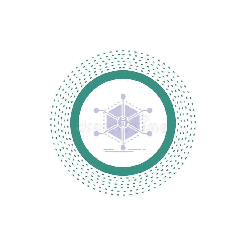 Данные, помощь, информация, информация, значок глифа ресурсов r иллюстрация вектора