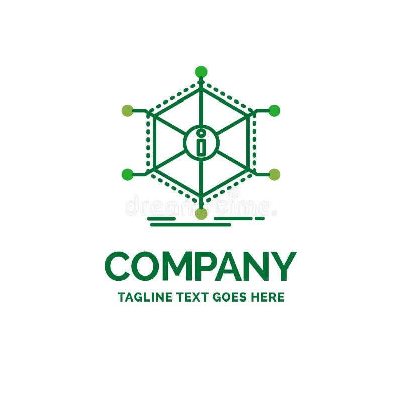 Данные, помощь, информация, информация, temp логотипа дела ресурсов плоский иллюстрация вектора